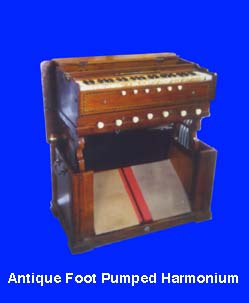 foot pumped Harmonium