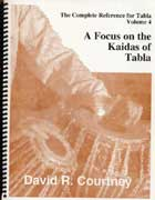 Focus on the Kaidas of Tabla - book